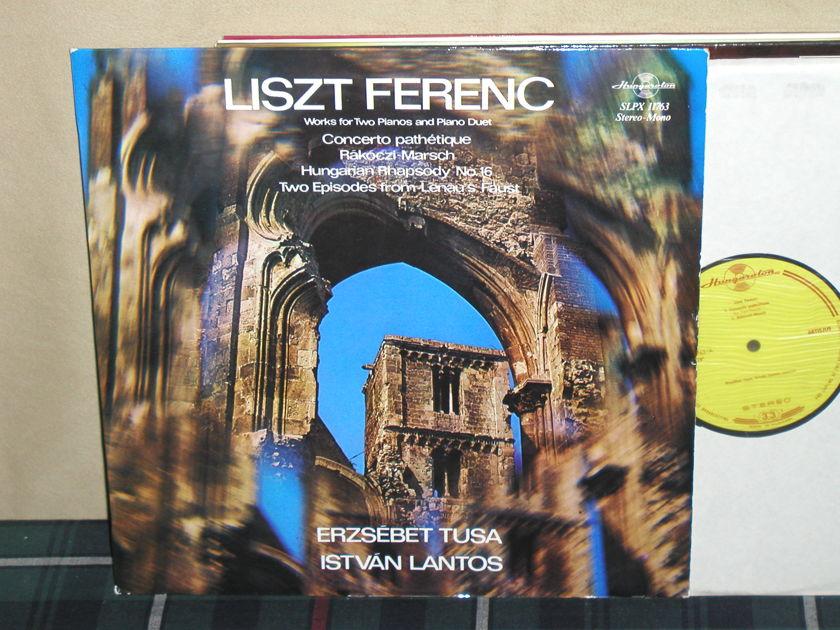 Erzsebet Tusa/Istvan Lantos - Liszt Ferenc Hungaroton SLPX 119763