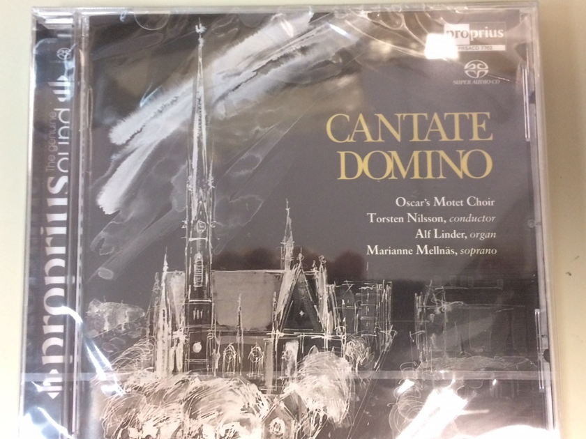 Oscar's Motet Choir + Alf Linder, Organ - Cantate Domino