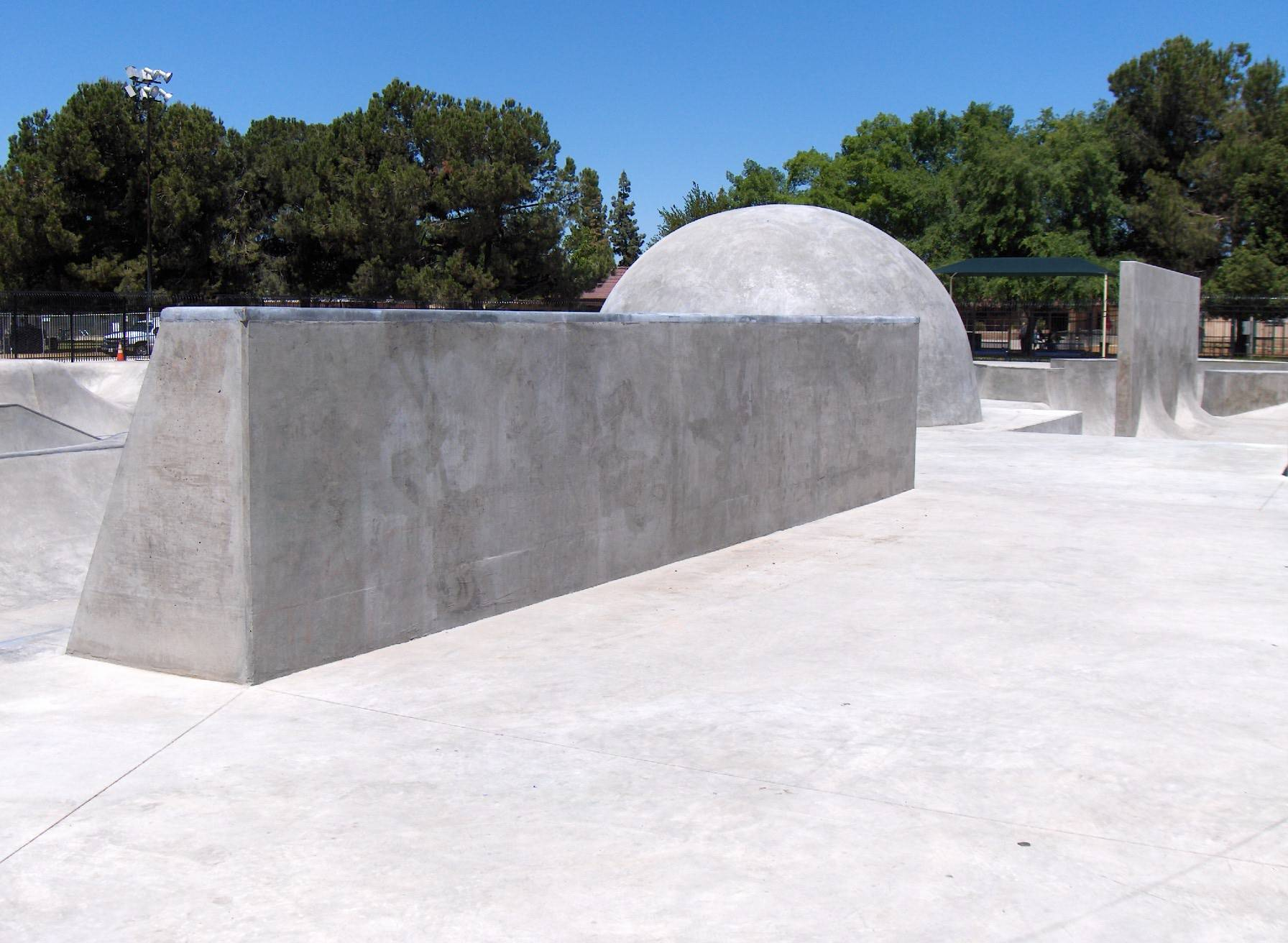 before and after graffiti removal for skate park