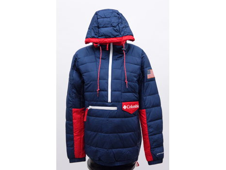 Team USA Lifestyle Puffer by Columbia, unisex size M