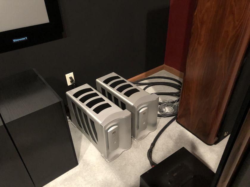 Theta Digital Enterprise Mono Blocks 300 Watt Mono Amplifiers - Excellent Condition-1 Pair Left