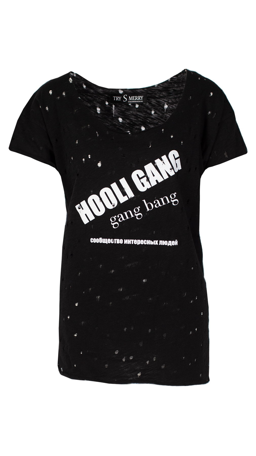 HooliGang black tshirt