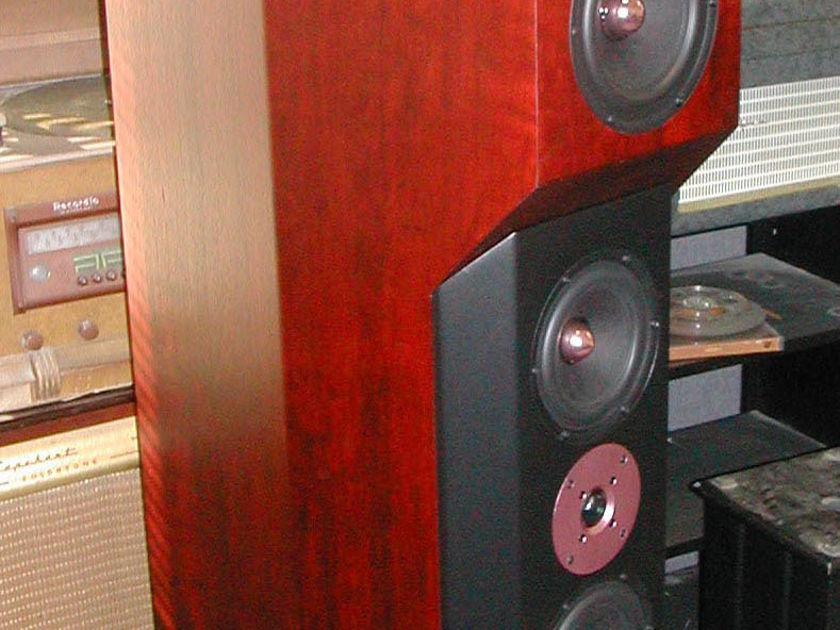 Tyler Acoustics D1's in custom cherry! warranty!