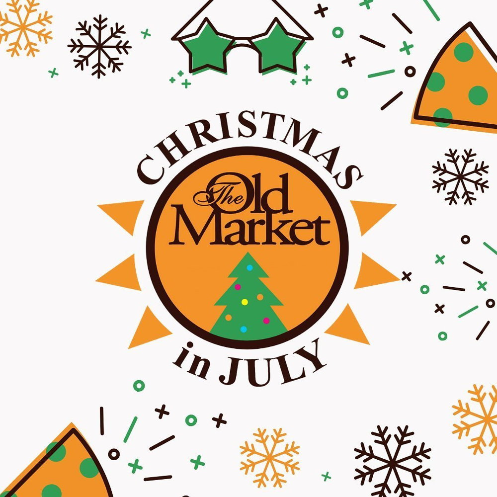 Picture of Come celebrate and prepare for Christmas this July in Old Market. Businesses will be hosting special features the entire month.