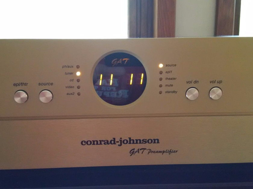 Conrad Johnson GAT pre Tube Preamplifier