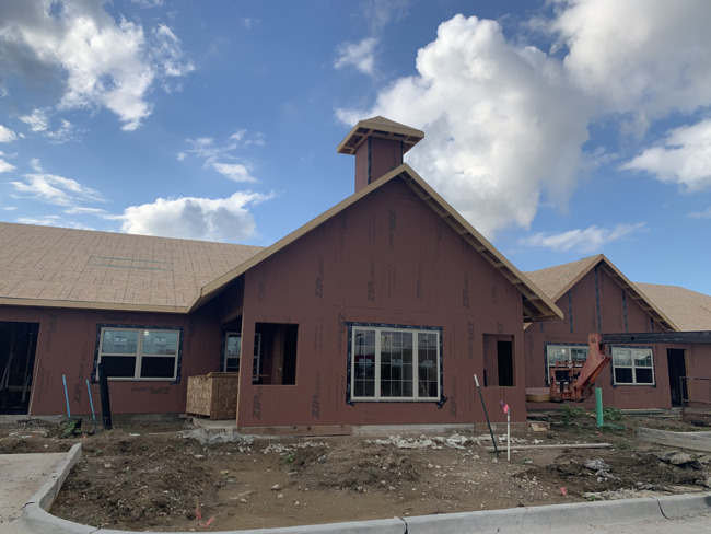 Primrose School of Urbandale facility front under construction