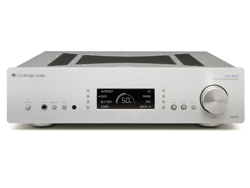 CAMBRIDGE AUDIO Azur 851A Flagship Integrated Amplifier: Manufacturer Refurbished – Full Warranty; 45% Off