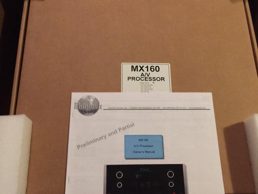 McIntosh MX-160 HOME THEATER PROCESSOR