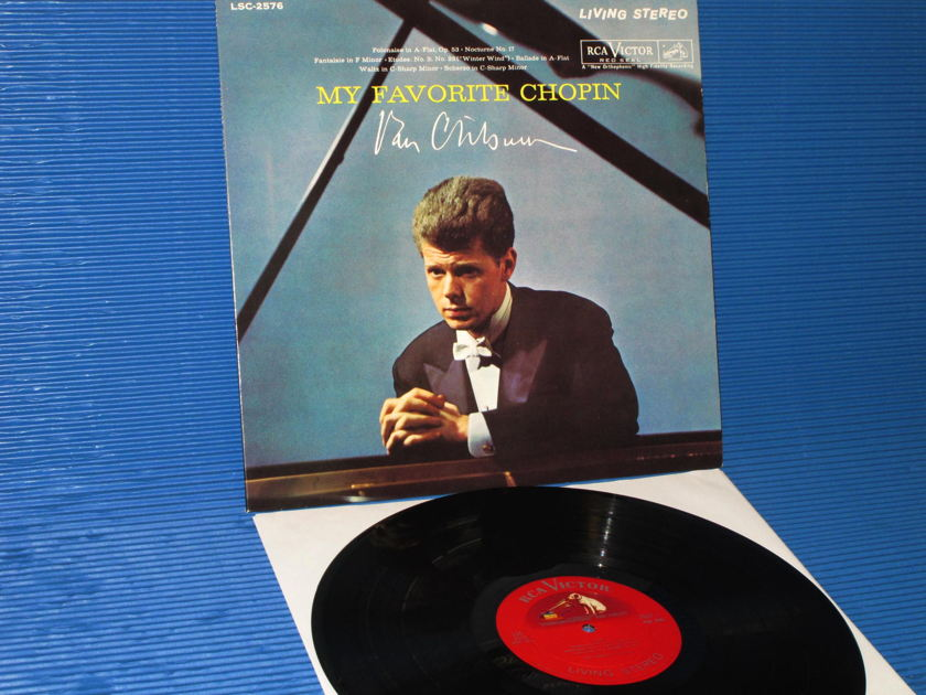 "CHOPIN/Cliburn -  - ""My Favorite Chopin"" -  RCA Shaded Dog 1961 3S/3S"