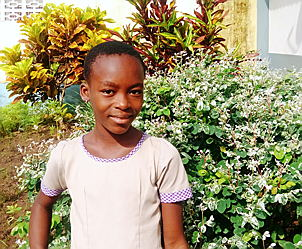 "Hamburg - Olgah Amivi Konu completed her primary school education in August as the best in class at the ""Ecole privée Engel & Völkers"""
