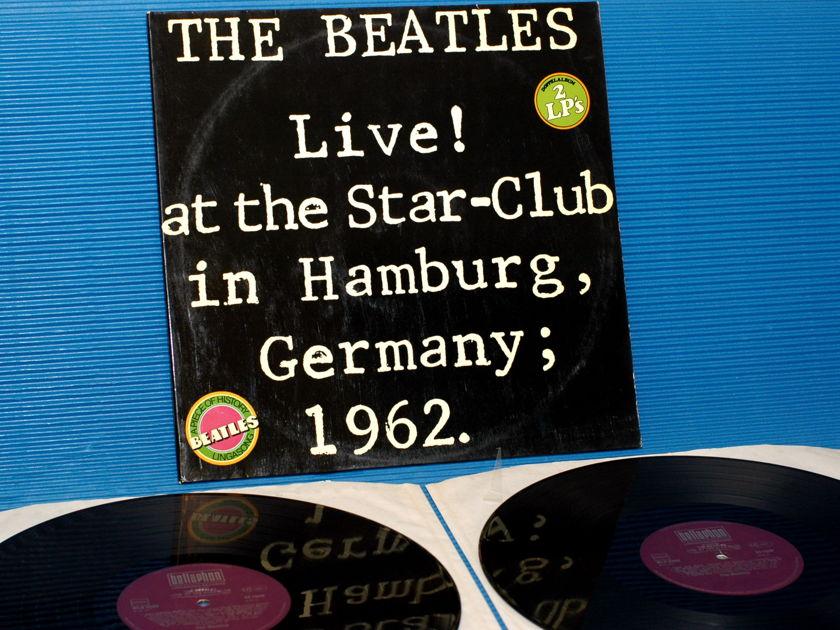"THE BEATLES - - ""Live! at the Star-Club in Hamburg 1962"" -  Lingasong/Bellaphon German Pressing"