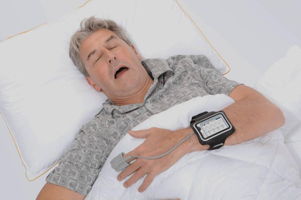 جهاز مراقبة انقطاع التنفس أثناء النوم