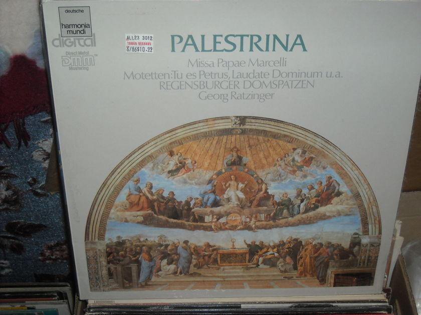 (lec) G.P. Palestrina - Missa und Motetten Harmonia Mundi  LP (c)
