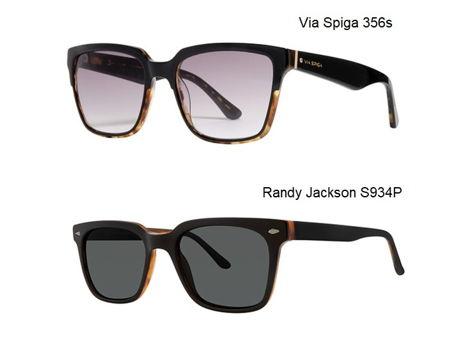 Via Spiga & Randy Jackson Sunglasses