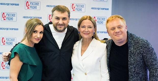 Тамара Глоба стала гостьей утреннего шоу «Русские Перцы» - Новости радио OnAir.ru