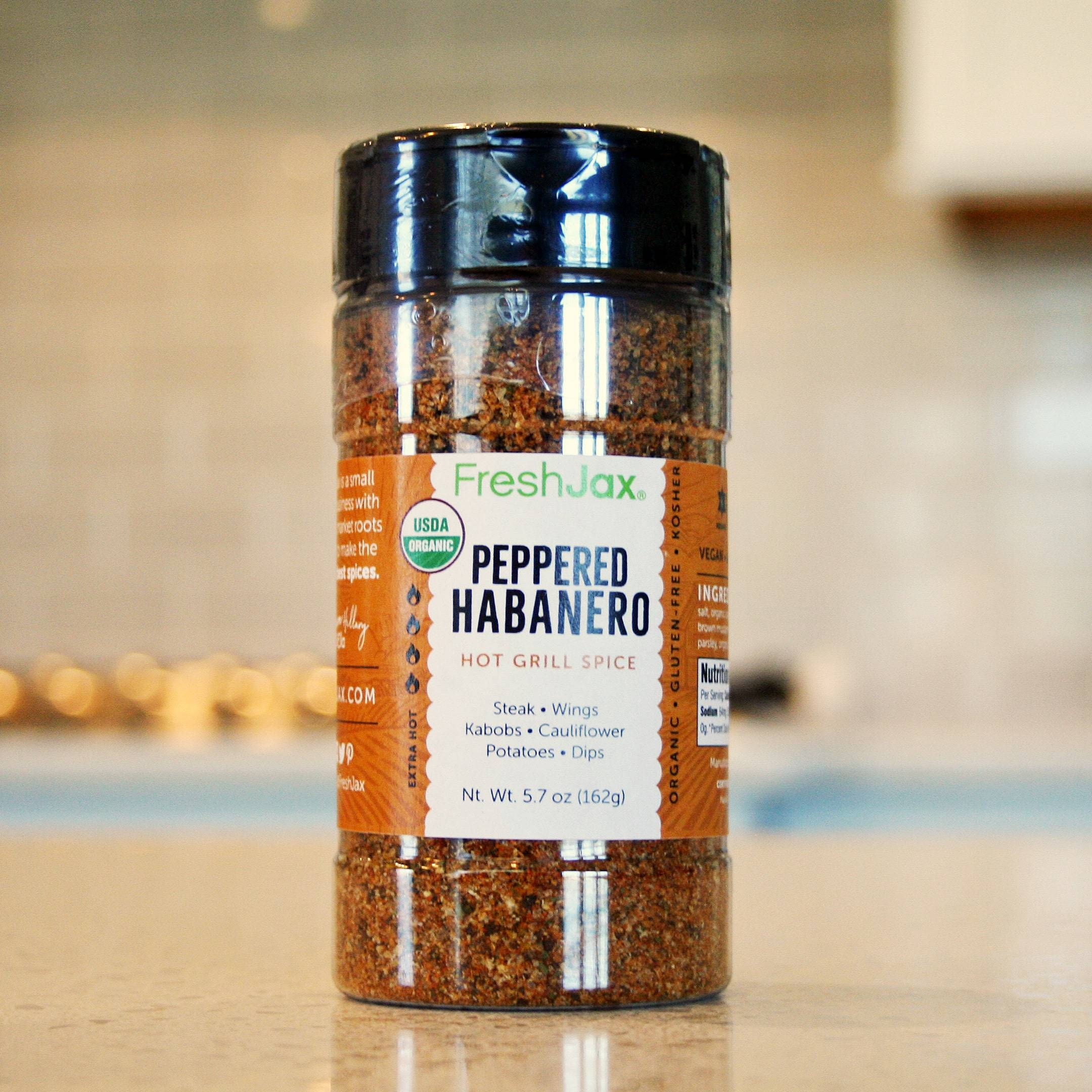 FreshJax Organic Peppered Habanero Spice Blend