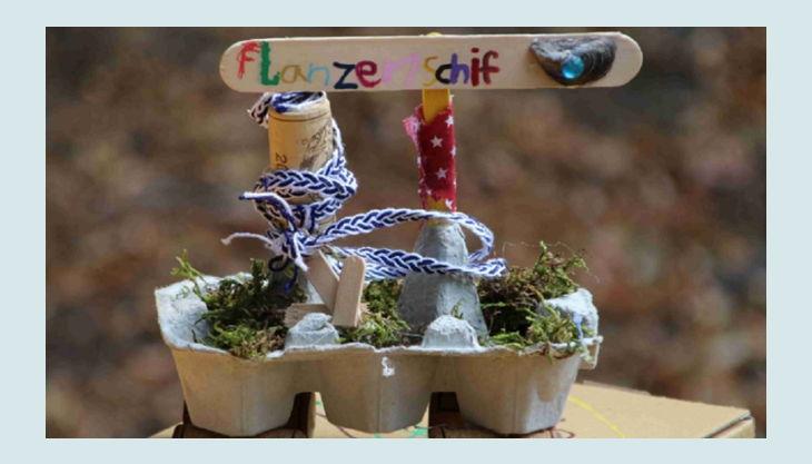 erfinderkinder kinder pflanzenschiff