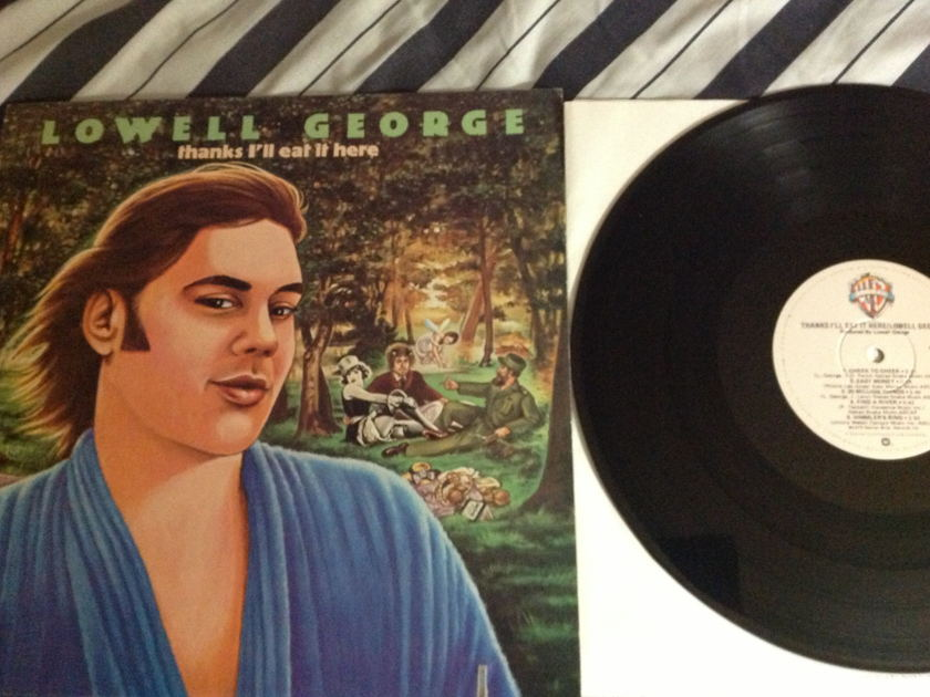 Lowell George(Little Feat) - Thanks I'll Eat It Here LP NM
