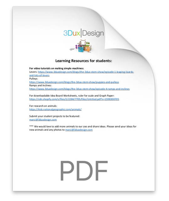 tiny house challenge student worksheets for remote and live classes