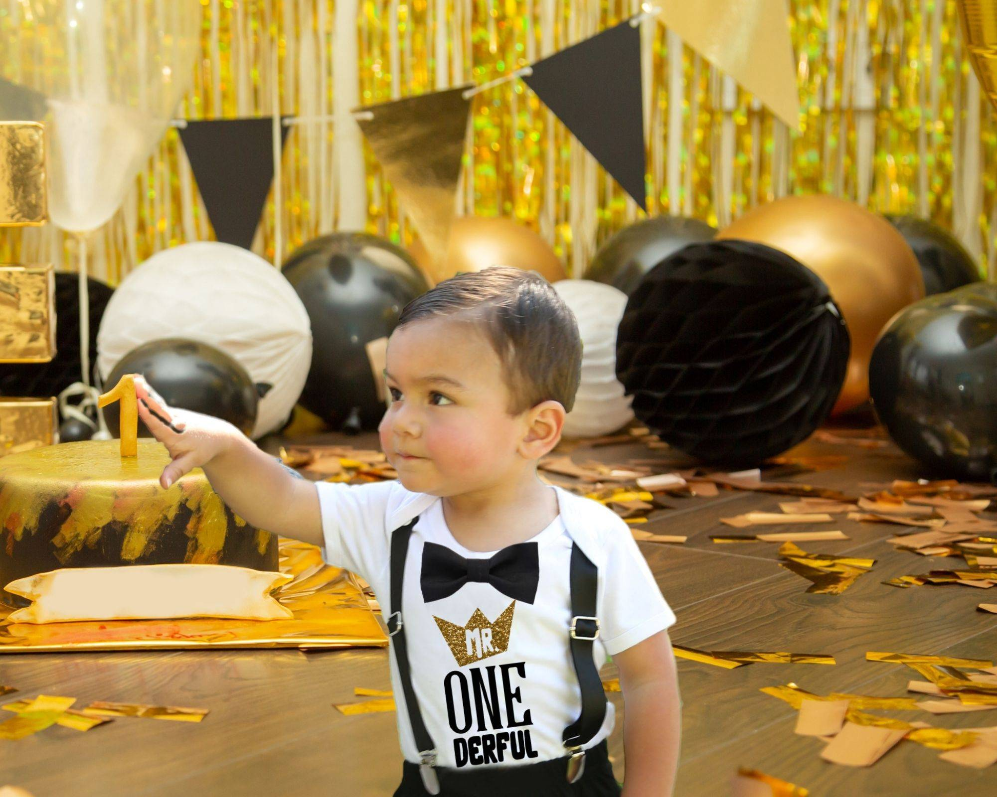 Boys Winter 1st Birthday Outfit Winter 1st Birthday Boy Bodysuit Mr One derful Boy Bodysuit Mr ONE derful Birthday Boy Outfit