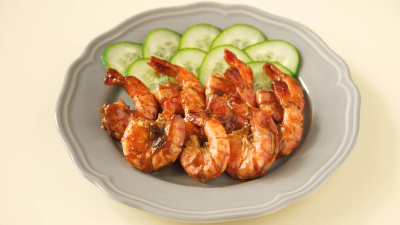 Malaysian Tamarind Fried Prawns