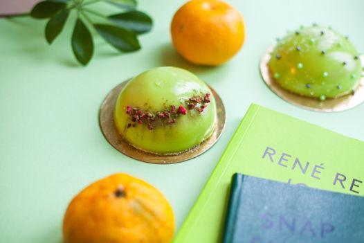 """Муссовые пирожные или муссовый торт """"Зеленый чай - малина - бабан"""""""