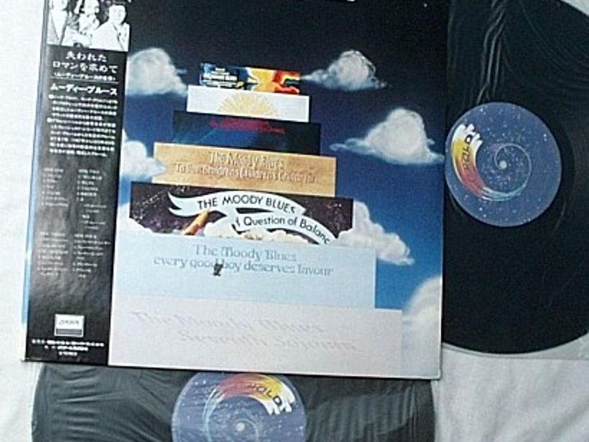 Moody Blues 2 LP set-This is Moody - Blues-rare Japanese album-mint vinyl