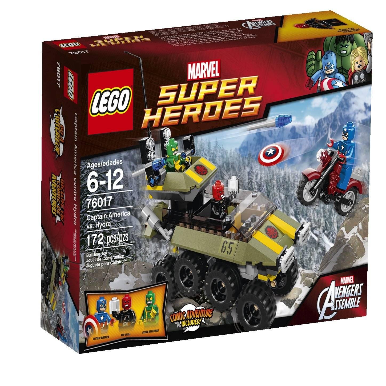 lego avengers captain america vs hydra