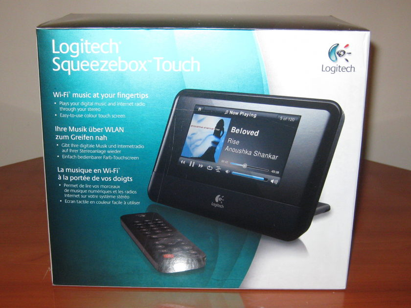 Logitech Squeezebox Touch Network Music Player.