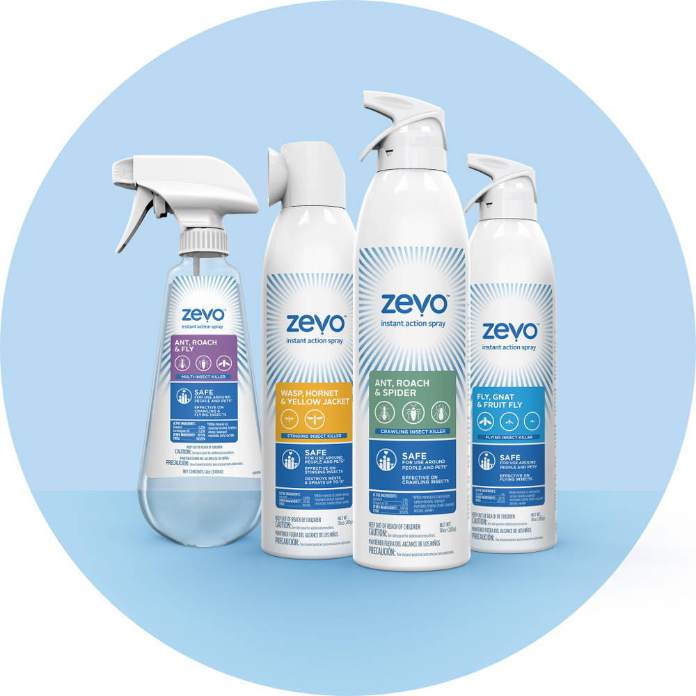Sign-up to Try Zevo's New Safe and Powerful Bugs Sprays