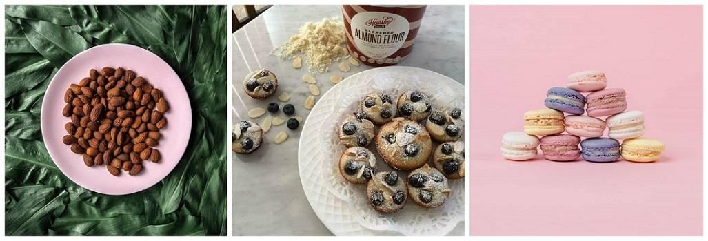 Almond gluten free flour