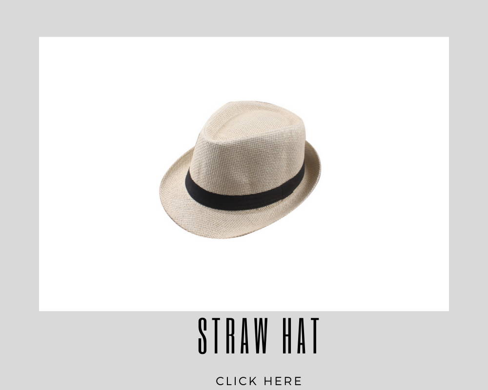 Corporate Straw Hat Custom Caps