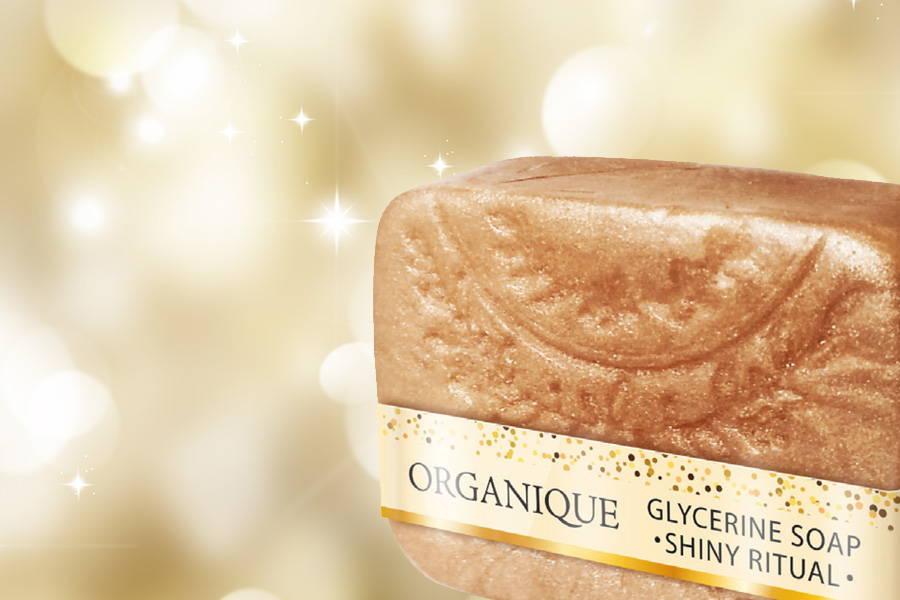 Organique Shiny Ritual Glicerin Soap Bar 100g handmade natural cosmetics