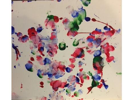 Jelani Gorilla Painting #2