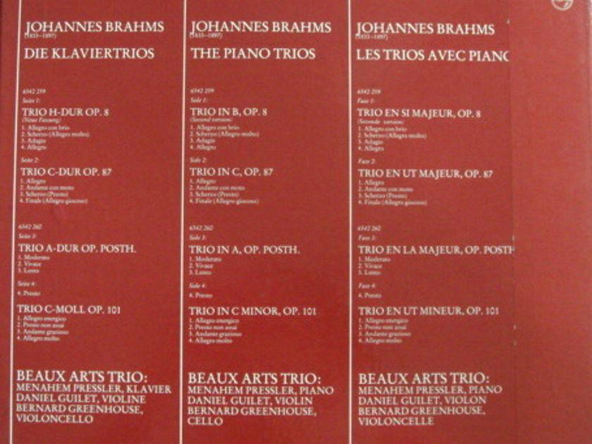 Philips / BEAUX ARTS TRIO, - Brahms Piano Trios, MINT, 2LP Box Set!