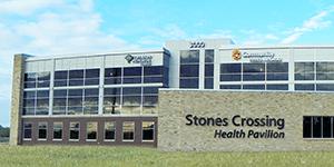 Stones Crossing Health Pavilion in Center Grove