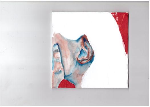 Картина акрил на холсте из серии 'listen'