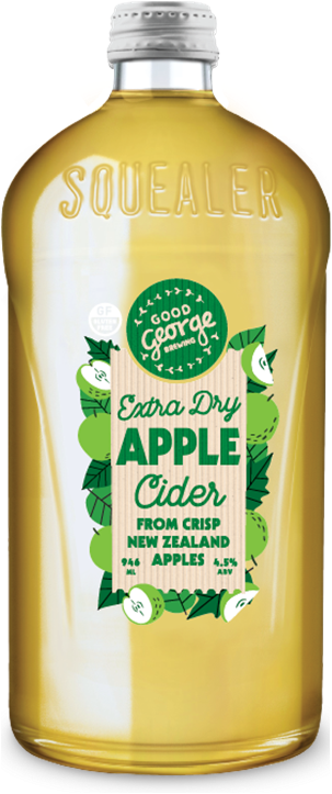 Good George Extra Dry Apple Cider Squealer