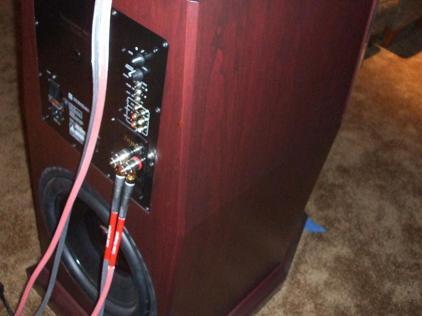 Von Schweikert VR9-SE Speakers, Dark Red Cherry