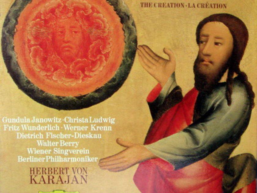 DG / Haydn The Creation, - JANOWITZ/LUDWIG/KARAJAN/BPO, MINT, 2LP Box Set!