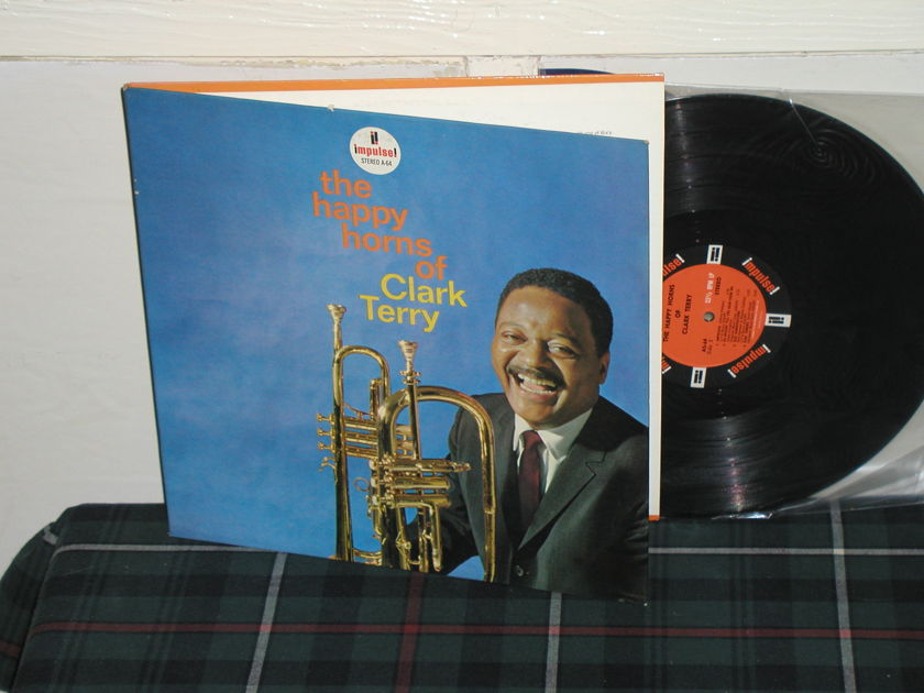 Clark Terry - Happy Horns of (Pics) Impulse Orange/Black STEREO