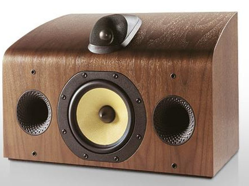 B&W Bowers Wilkins HTM-7 Center Speaker walnut brand new in unopened box