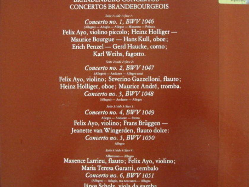 Philips / I MUSICI-AYO-HOLLIGER, - Bach Brandenburg Concertos, NM, 2LP Box Set!