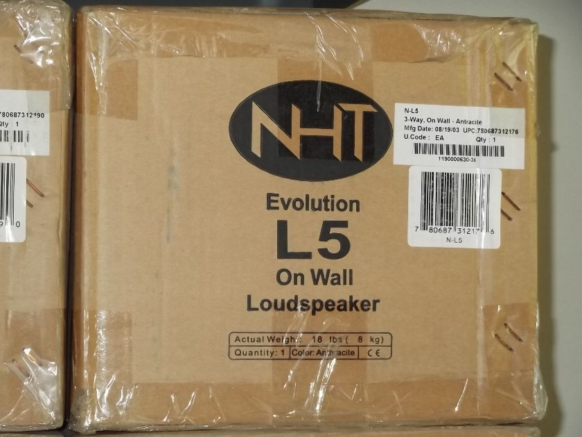 NHT L5 (630) Anthracite On-Wall Spkr.