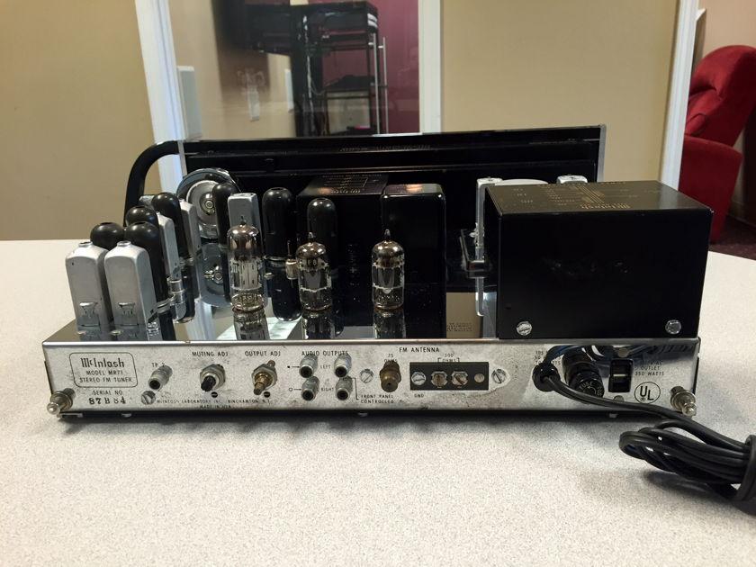 McIntosh MR71 Classic FM Stereo Tube Tuner