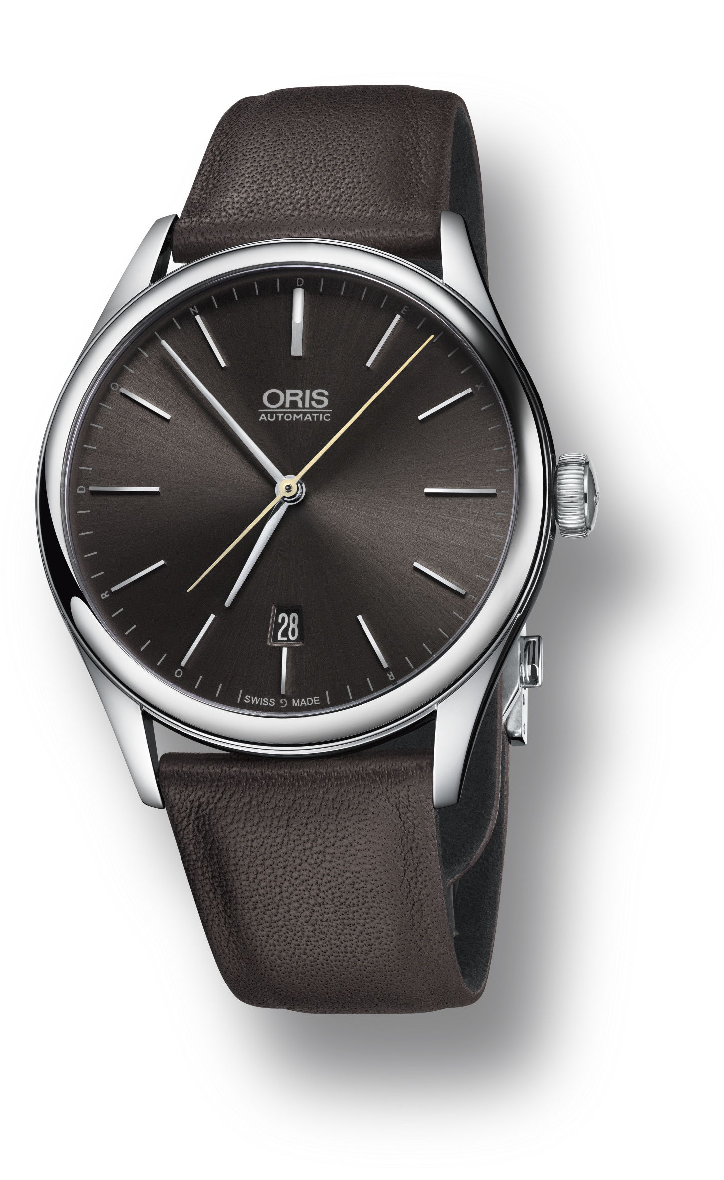 winding leather free watch shipping artelier watches oris men s product black mens jewelry hand today overstock