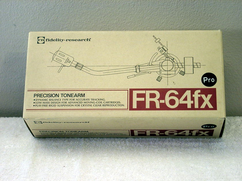 Fidelity Research FR-64fx Tonearm