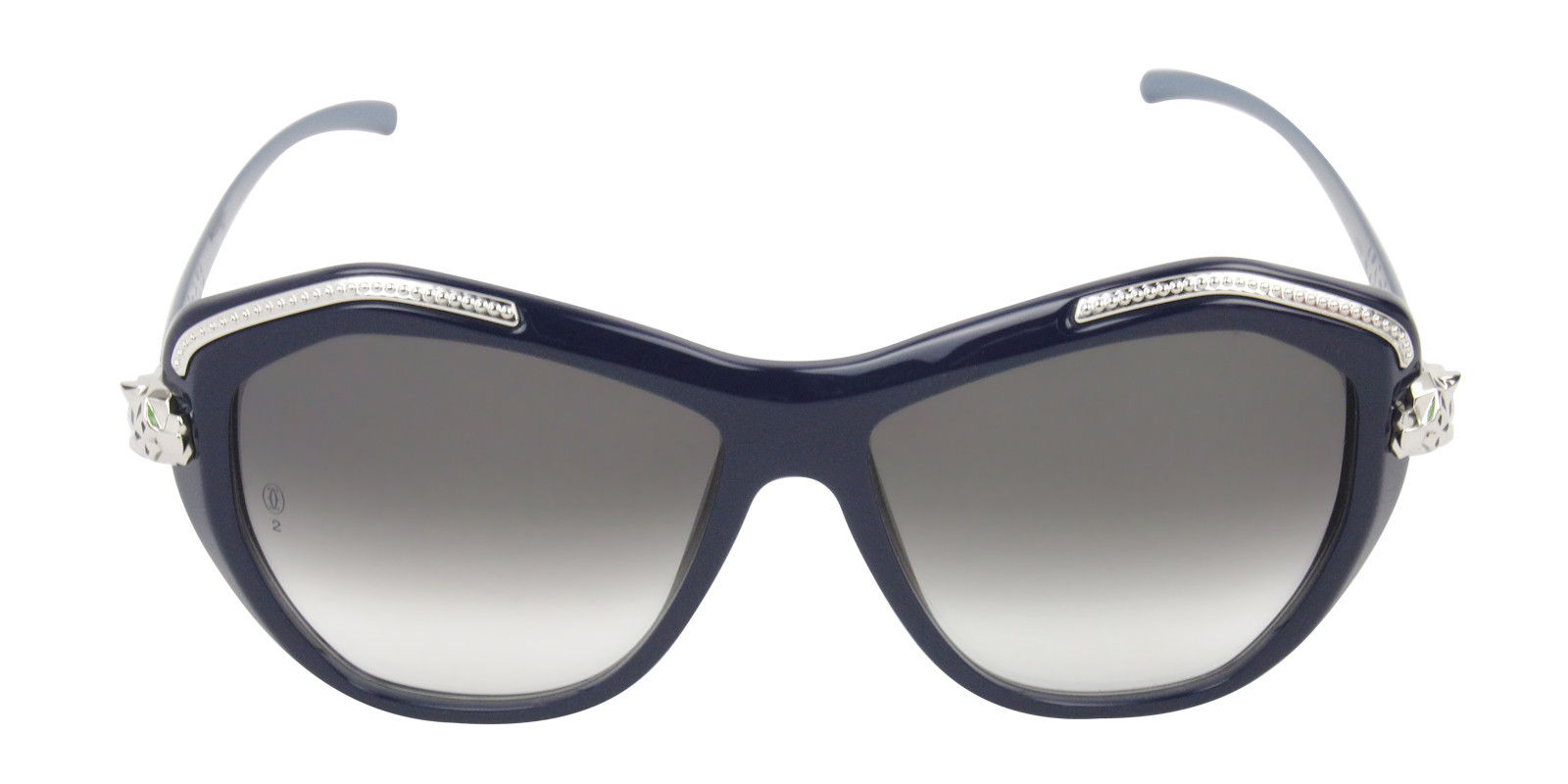 CARTIER WOMEN'S PANTHERE WILD T8201075 SUNGLASSES