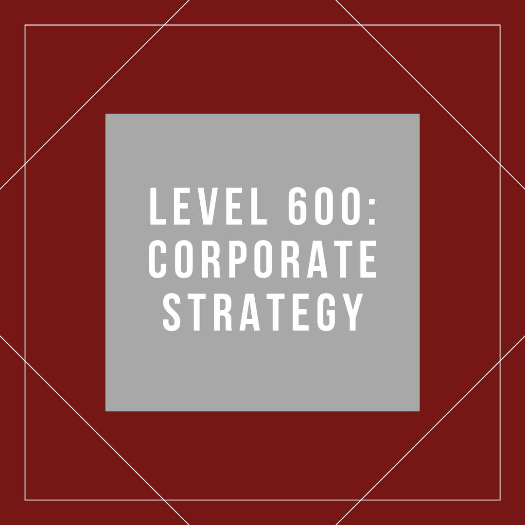 Pricing and Corporate Strategy