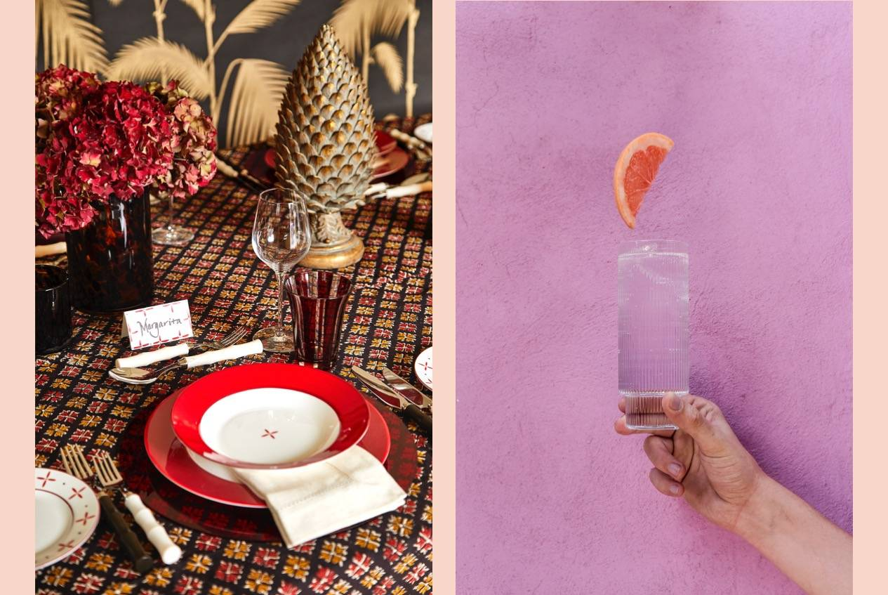 LAY London rentable partyware, Fiesta Tropicana style